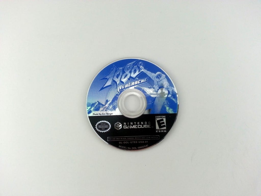 1080 Avalanche game for Nintendo Gamecube - Loose