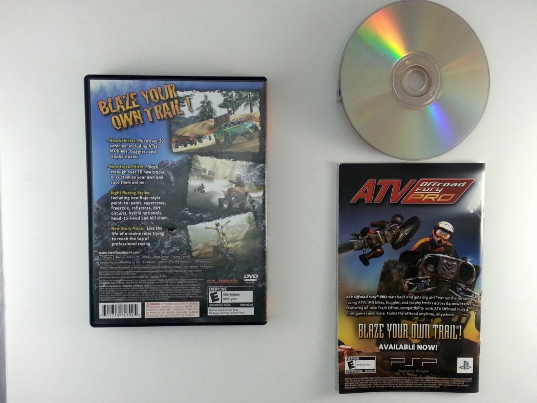 ATV Offroad Fury 4 game for Playstation 2 (Complete) | The Game Guy