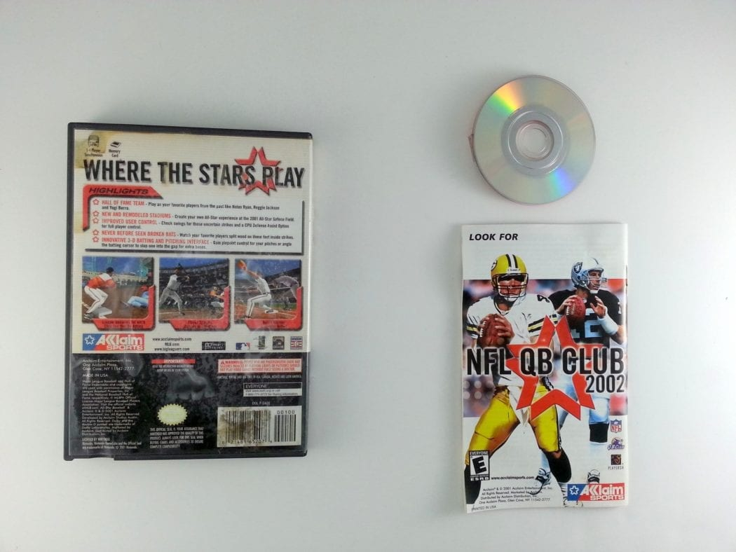 All-Star Baseball 2002 game for Gamecube (Complete) | The Game Guy