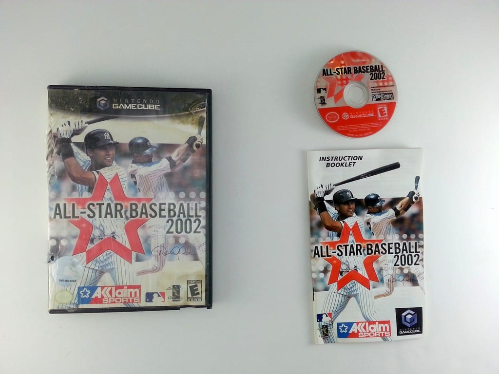 All-Star Baseball 2002 game for Nintendo Gamecube -Complete