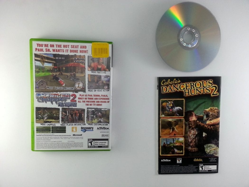 American Chopper 2 Full Throttle game for Xbox (Complete)   The Game Guy