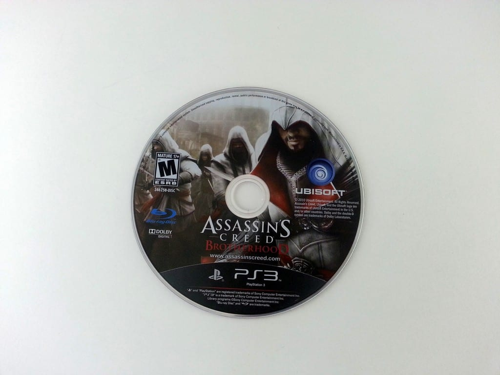 Assassin's Creed: Brotherhood game for Sony Playstation 3 PS3 - Loose