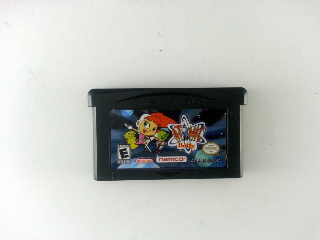 Atomic Betty game for Nintendo Gameboy Advance - Loose