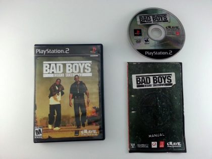 Bad Boys Miami Takedown game for Sony Playstation 2 PS2 -Complete