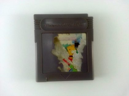 Bart Simpson's Escape from Camp Deadly game for Nintendo GameBoy - Loose