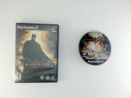 Batman Begins game for Sony Playstation 2 PS2 -Game & Case