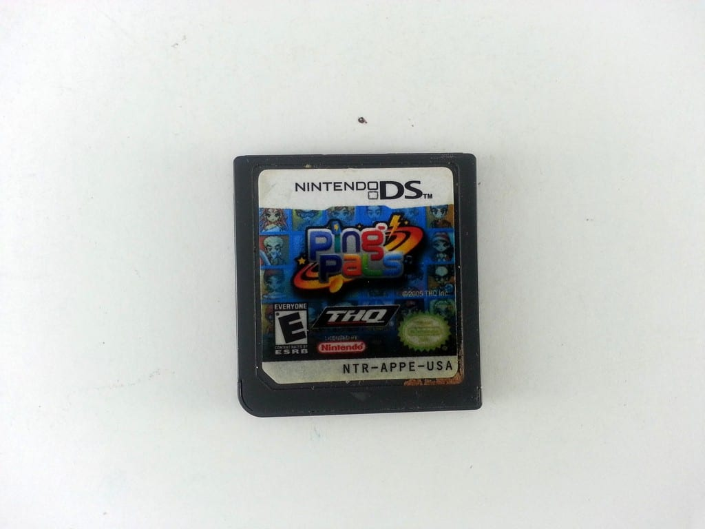 pingpals game for Nintendo DS - Loose