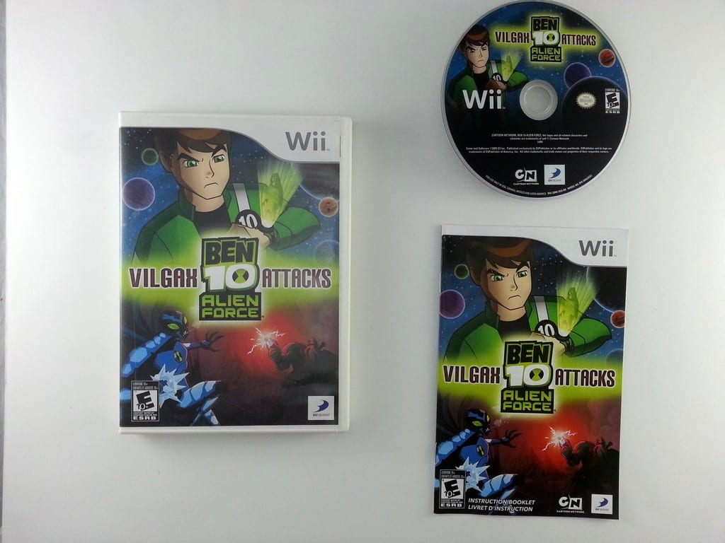 Ben 10: Alien Force: Vilgax Attacks game for Nintendo Wii -Complete