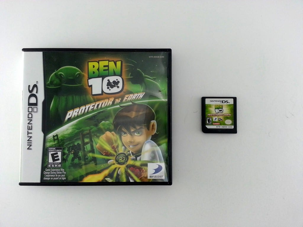 Ben 10 Protector of Earth game for Nintendo DS -Game & Case
