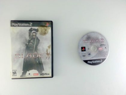 Blade 2 II game for Sony Playstation 2 PS2 -Game & Case