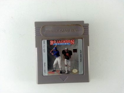 Bo Jackson Hit and Run game for Nintendo GameBoy - Loose