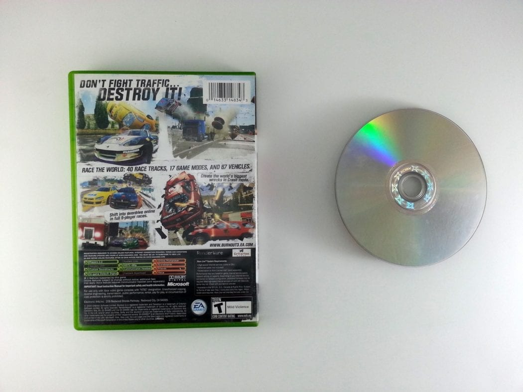 Burnout 3 Take Down game for Xbox | The Game Guy