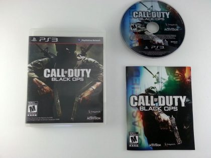 Call of Duty: Black Ops game for Sony Playstation 3 PS3 -Complete