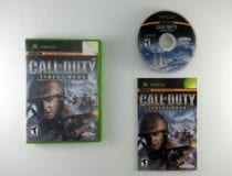 Call of Duty Finest Hour game for Microsoft Xbox -Complete