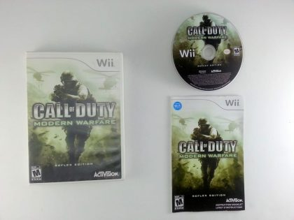 Call of Duty: Modern Warfare Reflex game for Nintendo Wii -Complete