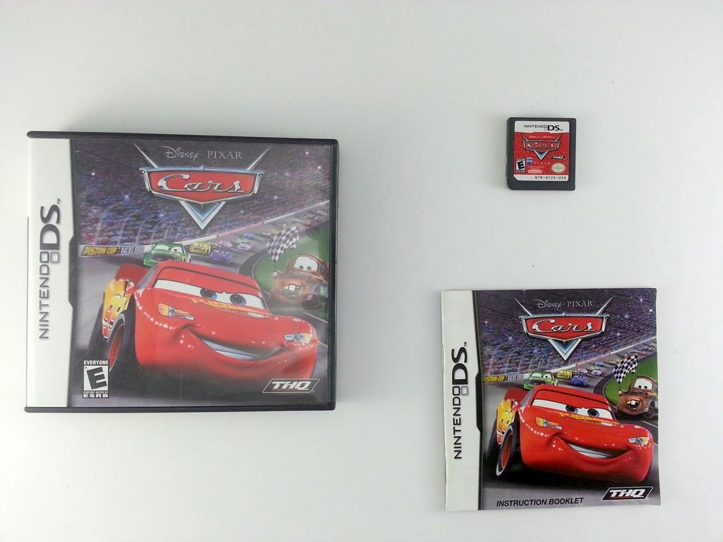 cars game for nintendo ds complete the game guy. Black Bedroom Furniture Sets. Home Design Ideas