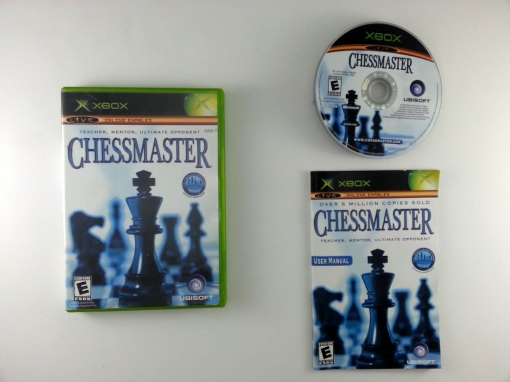 Chessmaster game for Microsoft Xbox -Complete