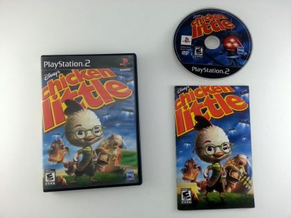 Chicken Little game for Sony Playstation 2 PS2 -Complete