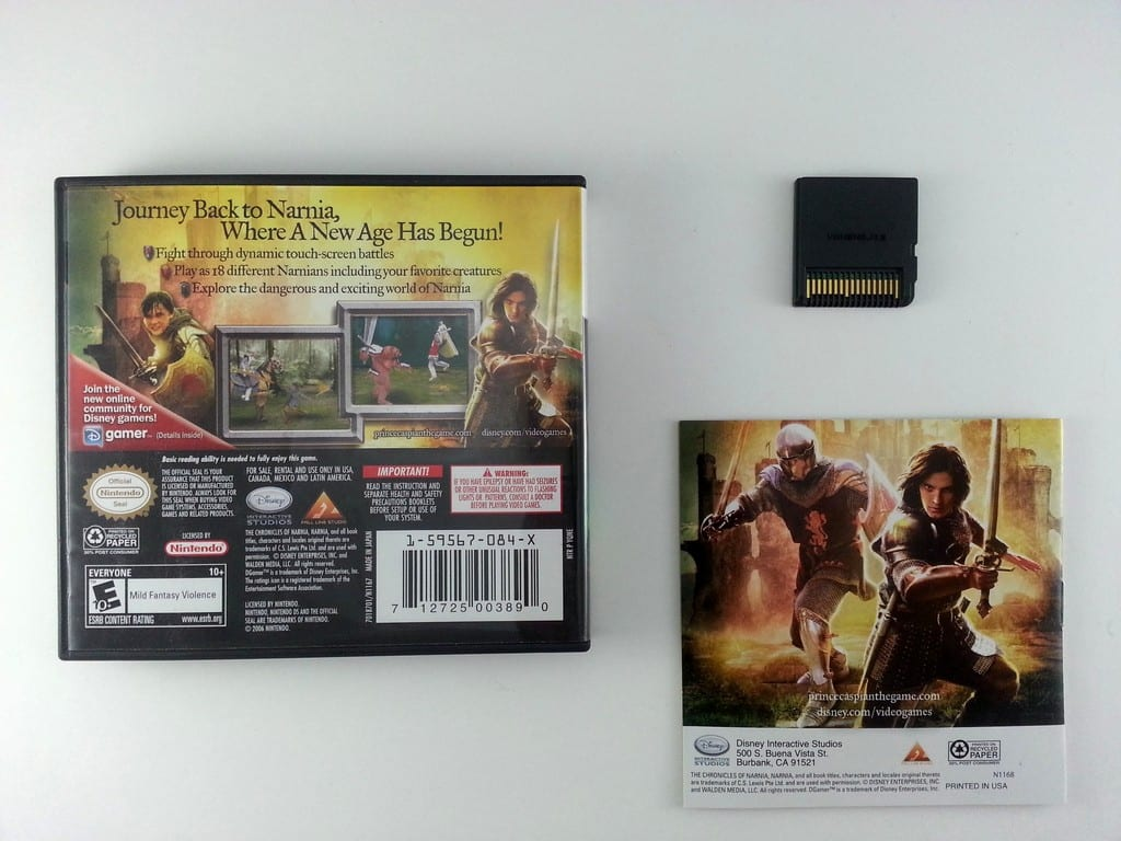 Chronicles of Narnia Prince Caspian game for Nintendo DS (Complete)   The Game Guy
