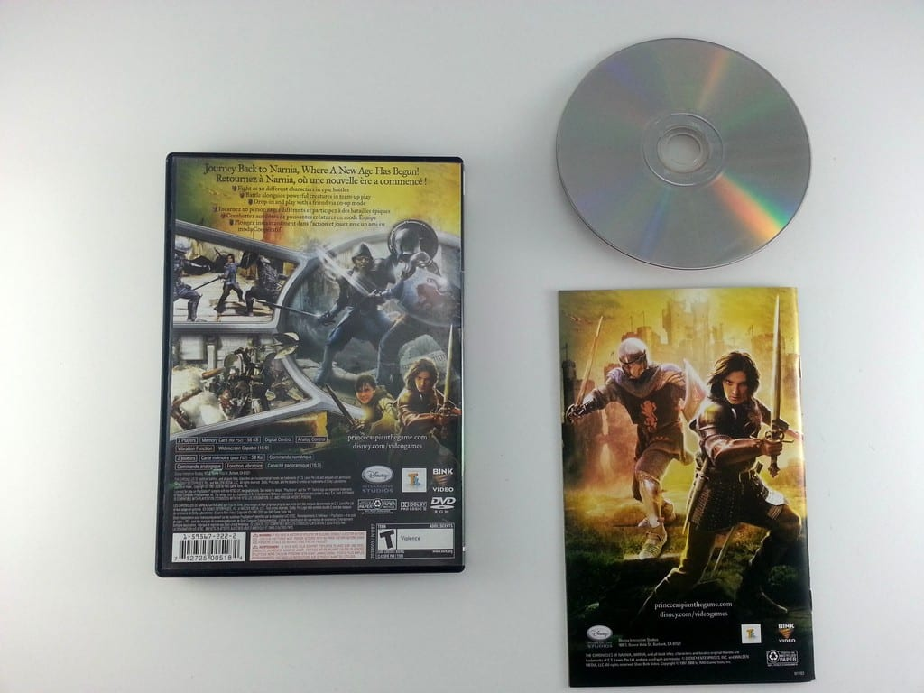 Chronicles of Narnia Prince Caspian game for Playstation 2 (Complete) | The Game Guy