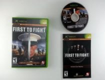 Close Combat First to Fight game for Microsoft Xbox -Complete
