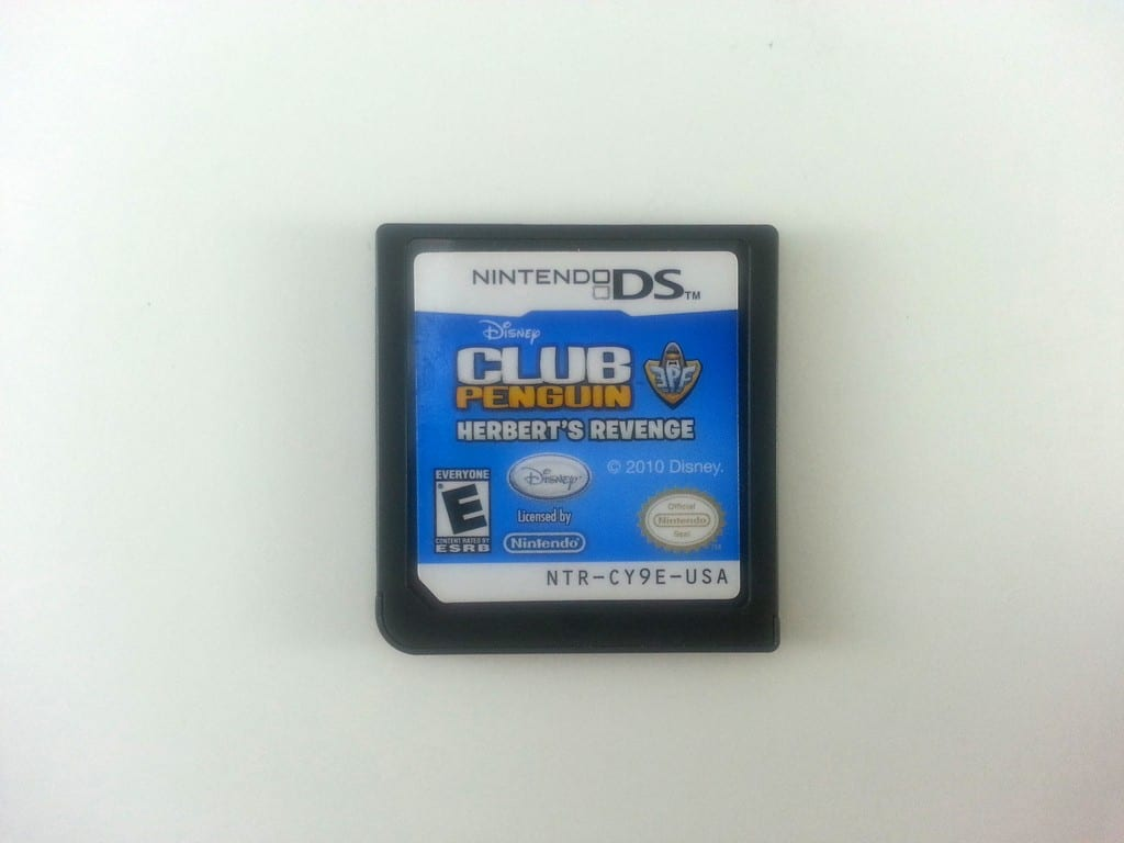 Club Penguin Elite Penguin Force Herbert's Revenge game for DS - Loose