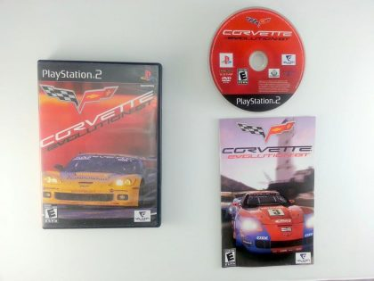 Corvette Evolution GT game for Sony Playstation 2 PS2 -Complete