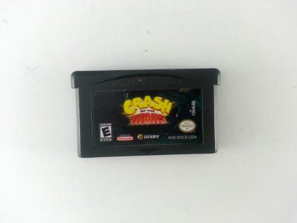 Crash of the Titans game for Nintendo Gameboy Advance - Loose