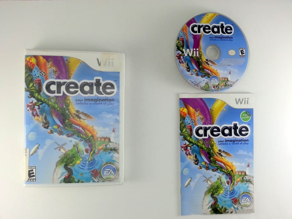 Create game for Nintendo Wii -Complete
