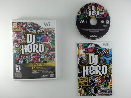 DJ Hero (game only) game for Nintendo Wii -Complete