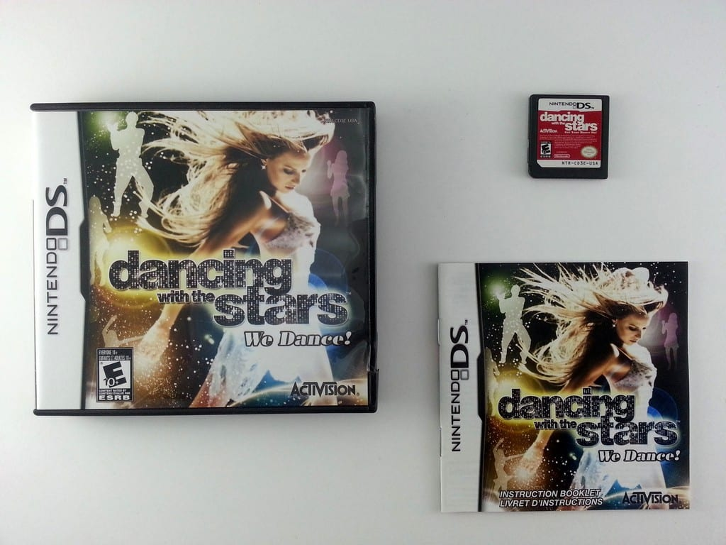 Dancing With The Stars We Dance game for Nintendo DS -Complete