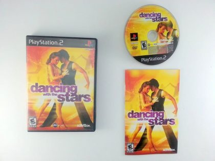 Dancing with the Stars game for Sony Playstation 2 PS2 -Complete
