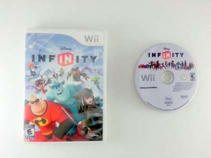 Disney Infinity Starter Pack game for Nintendo Wii -Game & Case