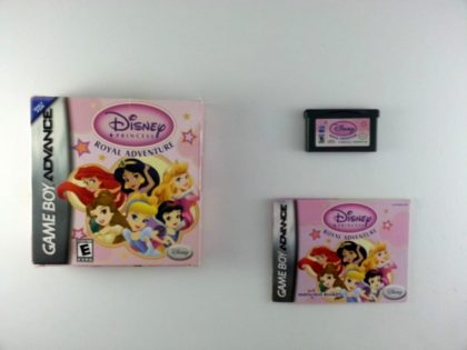 Disney Princess Royal Adventure game for Nintendo Gameboy Advance -Complete