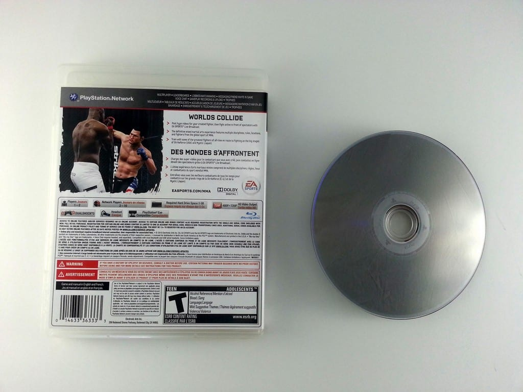 EA Sports MMA game for Playstation 3 | The Game Guy
