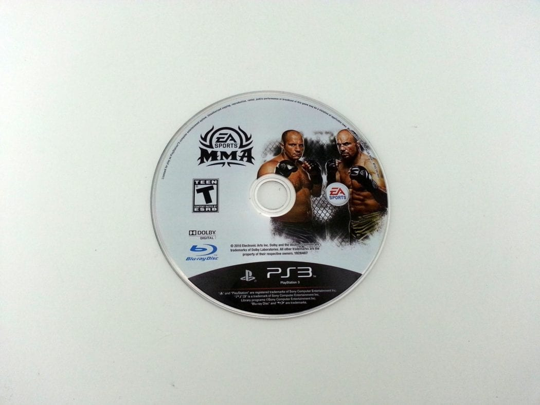 EA Sports MMA game for Playstation 3 (Loose)   The Game Guy