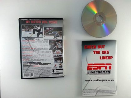 ESPN Hockey 2005 game for Playstation 2 (Complete)   The Game Guy