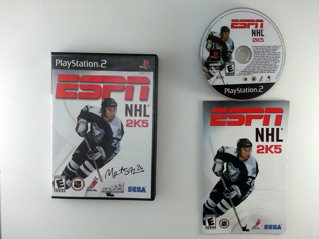 ESPN Hockey 2005 game for Sony Playstation 2 PS2 -Complete