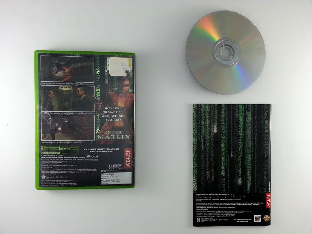 Enter the Matrix game for Xbox (Complete) | The Game Guy