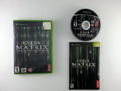 Enter the Matrix game for Microsoft Xbox -Complete
