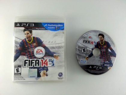 FIFA 14 game for Sony Playstation 3 PS3 -Game & Case