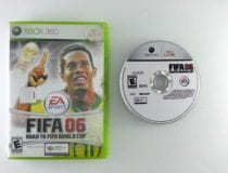 FIFA 2006 Road to World Cup game for Microsoft Xbox 360 -Game & Case