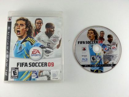FIFA Soccer 09 game for Sony Playstation 3 PS3 -Game & Case