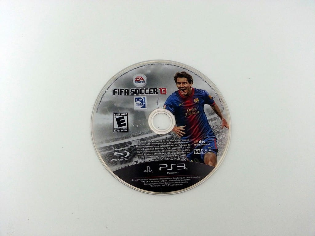 FIFA Soccer 13 game for Playstation 3 (Loose) | The Game Guy