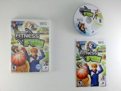 Family Party: Fitness Fun game for Nintendo Wii -Complete