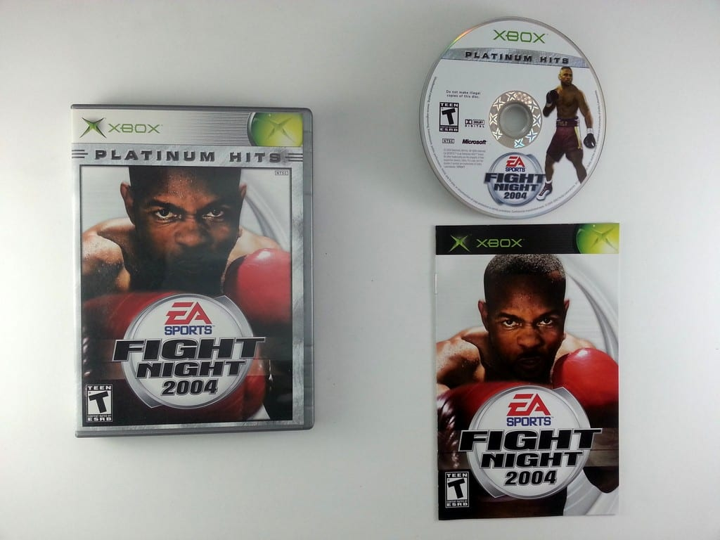 Fight Night 2004 game for Microsoft Xbox -Complete