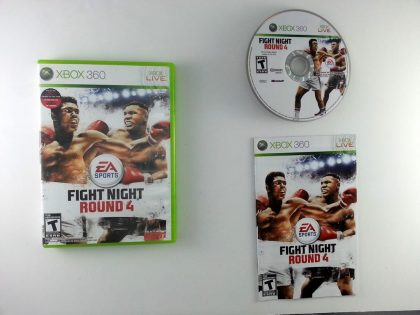 Fight Night Round 4 game for Microsoft Xbox 360 -Complete