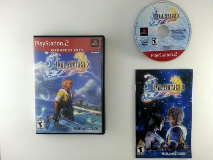 Final Fantasy X 10 game for Sony Playstation 2 PS2 -Complete
