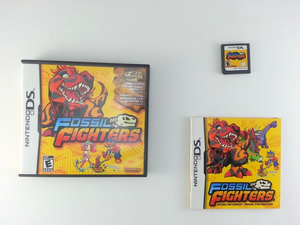 Fossil Fighters game for Nintendo DS -Complete
