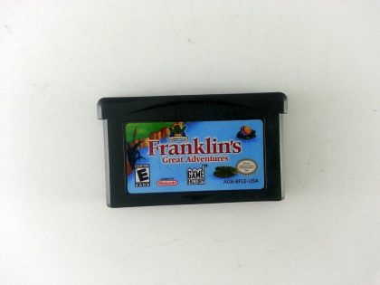 Franklin The Turtle game for Nintendo Gameboy Advance - Loose